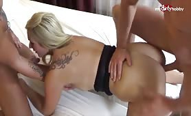 Tatjana Young banged by two in hotel room