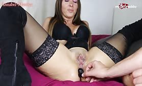Annabel Massina's anal pleasure