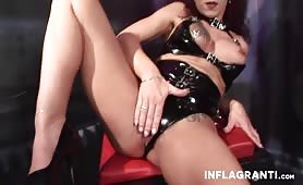 Curvy dominatrix  Silke Maiden is in controll
