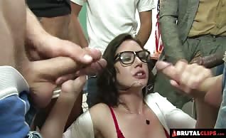 Nymphomaniac Teacher Sarah Shevon Fucks Her Students