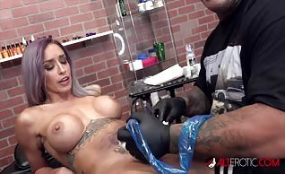 Vanessa Skye Got Fucked After Getting a Sexy Pussy Tattoo