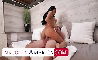Chloe Amour fucks on business trip away from her husband